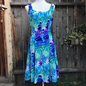 Dress Barn Womens Dress Sz 10 Floral sleeveless